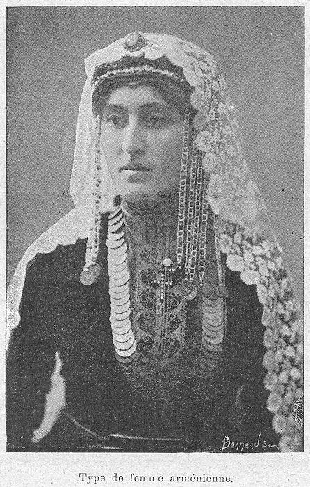 femme armnienne - Religion Armenienne Mariage
