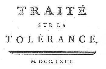 Voltaire - Tolérance 1